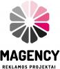 """IĮ """"Magency"""" logotipas"""