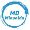 Minvalda, UAB logotipas