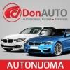 Automobilių nuoma DonAuto, filialas logotipas