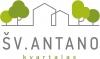 """Individualių namų ir butų bendrija """"Šv. Antano kvartalas"""" 标志"""