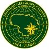Jaunųjų Geografų Klubas logotipas