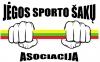 """Jėgos sporto šakų asociacija """"Jėgos imtynės"""" logotipas"""