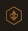 """UADBB """"Draudimo bitės"""" logotipas"""