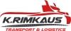 K. Rimkaus transporto įmonė logotipas