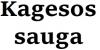Kagesos sauga, UAB logotype
