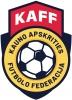 Kauno apskrities futbolo federacija logotyp