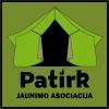 """Jaunimo asociacija """"Patirk"""" logotipas"""