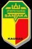 """Kauno krašto invalidų sporto klubas """"Santaka"""" logotyp"""