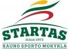 """Kauno sporto mokykla """"Startas"""" logotipas"""