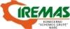 """Uždarosios akcinės bendrovės """"IREMAS"""" Klaipėdos filialas logotipas"""