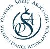 Vilniaus šokių asociacija logotyp