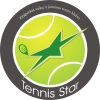 """Klaipėdos vaikų ir jaunimo teniso klubas """"Tennis Star"""", VšĮ logotipas"""