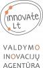 """Valdymo inovacijų agentūra """"innovate"""", MB logotyp"""