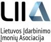 LIETUVOS ĮDARBINIMO ĮMONIŲ ASOCIACIJA logotipas