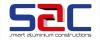 Smart aluminium constructions LT, UAB logotipas