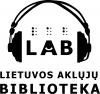 Lietuvos aklųjų biblioteka logotipo