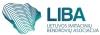 """Lietuvos imitacinių bendrovių asociacija """"Liba"""" logotipas"""