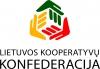 Lietuvos kooperatyvų konfederacija logotipas