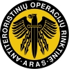 """Lietuvos policijos antiteroristinių operacijų rinktinė """"Aras"""" logotipas"""