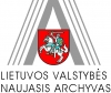 Lietuvos valstybės naujasis archyvas logotype
