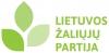 Lietuvos žaliųjų partija логотип