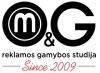 M&G reklamos gamybos studija, UAB logotipas