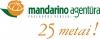 Mandarino agentūra, UAB logotipas