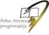 Marijampolės Petro Armino progimnazija logotipas