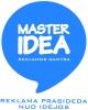 Master idea, UAB logotipas