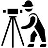 Matininko - Geodezininko Karolio Katiliavo individuali veikla logotipas