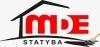 MDE statyba, MB Logo
