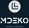 MDEKO, IĮ logotipas