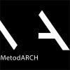 """MB """"Metodinė architektūra"""" logotipas"""