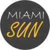Miami Sun Soliariumas logotyp