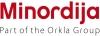 Minordija, UAB logotipas