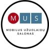 Mobilus užuolaidų salonas, MB logotipas
