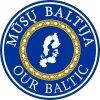 """VšĮ """"Mūsų Baltija"""" logotipas"""