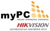 MYPC, UAB 标志