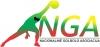 Nacionalinė golbolo asociacija logotipas