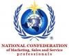 Nacionalinė Marketingo, Pardavimų ir Aptarnavimo Specialistų Konfederacija logotipas