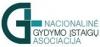 Nacionalinė gydymo įstaigų asociacija logotipas