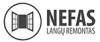 Nefas, UAB logotyp