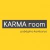 Pabėgimo kambarys KARMA room logotype