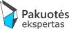 """UAB """"Pakuotės ekspertas"""" logotipas"""