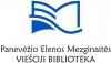 Panevėžio Elenos Mezginaitės viešoji biblioteka logotipas