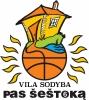 """""""Pas Šeštoką"""" Vila Sodyba logotipo"""