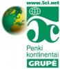 Penki kontinentai, UAB logotipas