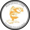 """Plungės žvejų klubas """"Auksėnis Lyns"""", asociacija logotipas"""