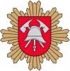 Priešgaisrinės apsaugos ir gelbėjimo departamentas prie LR VRM logotipas