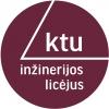Kauno technologijos universiteto inžinerijos licėjus logotipas